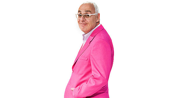 Amikam Levy in a Pink sports jacket, smiling
